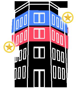 東大阪市足代新町10-15 布施ゴールドVIPビル